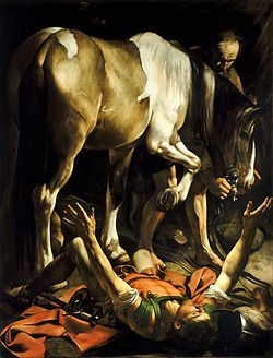 250px-Conversion_on_the_Way_to_Damascus-Caravaggio_(c.1600-1)(1)
